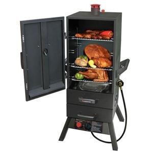 Landmann-USA-3495GLA-Smoky-Mountain-Vertical-Gas-Smoker-34-in-by-Landmann-USA