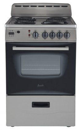 Avanti-ER24P3SG-24-Freestanding-Electric-Range-with-Deluxe-See-Thru-Glass-Oven-Door-in-Stainless-Steel