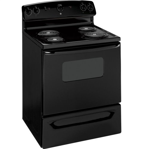 GE-JBS07MBB-Quick-Clean-30-Black-Electric-Coil-Range
