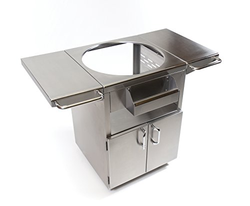 Kamado-Joe-KJ-SST-Classic-Joe-Stainless-Steel-Table