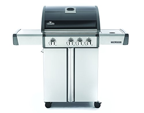 Napoleon-T410SBPK-Triumph-Propane-Grill-with-3-Burners-Black-and-Stainless-Steel