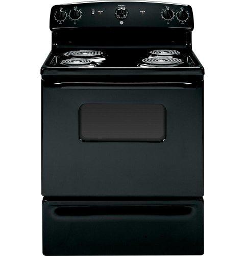 Ge Jbs07mbb Quick Clean 30 Black Electric Coil Range