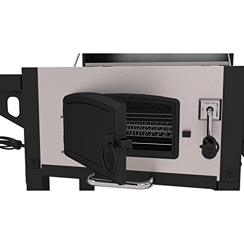 Dyna-Glo Heavy-Duty Charcoal Grill with Cast Iron Grates