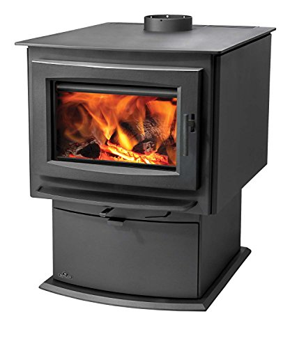 Napoleon-S-Series-EPA-Wood-Stove-with-Pedestal