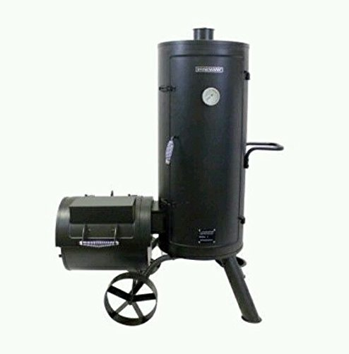 Brinkmann-Heavy-Gauge-Vertical-Smoker-wOff-Set-Firebox