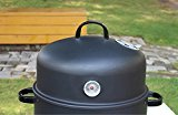 17-Black-Steel-Multi-functional-BBQ-Charcoal-Grill-Smoker-with-BBQ-Cooking-Accessories-Cold-Smoke-Generator-Meat-Smoking-Wood-Chips