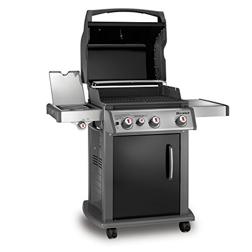 Weber 46810001 Spirit E330 Liquid Propane Gas Grill Black