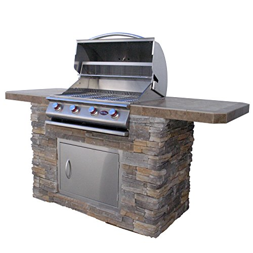 Cal-Flame-Bistro-470-A-Stucco-and-Tile-BBQ-Island-with-4-Burner-Grill