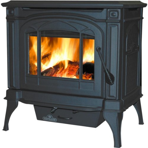 Napoleon-1100c-Wood-Burning-Stove-Black