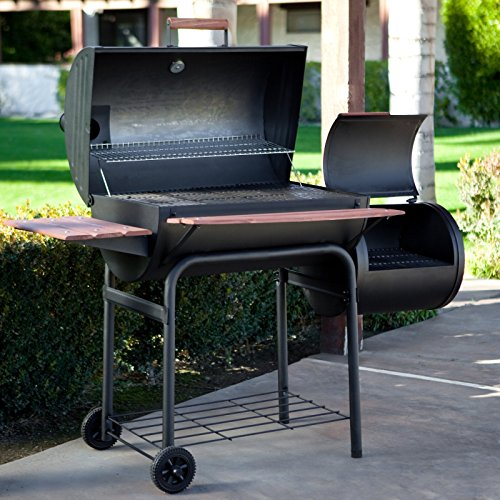 Char Griller Smokin Pro 1224 Charcoal Grill And Smoker