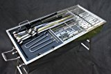 Stainless-Steel-Charcoal-Grill-Kebab-BBQ-Portable-Mangal
