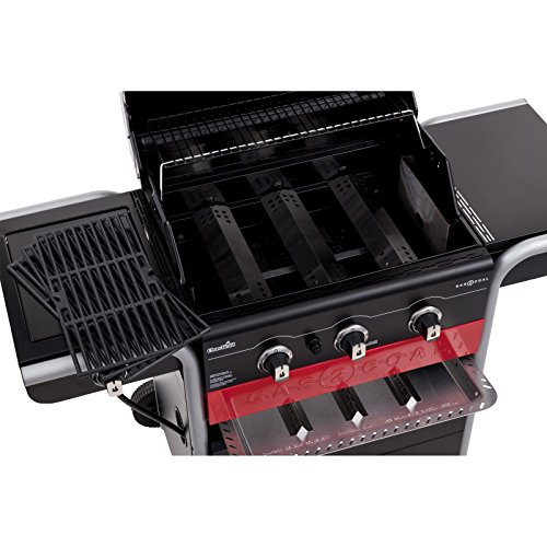 Char Broil Gas2coal 3 Burner Gas And Charcoal Grill