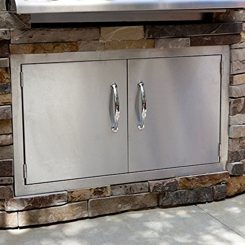 Sunstone-Grills-Classic-Series-Flush-Double-Access-Doors