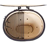 Primo-Ceramic-Charcoal-Smoker-Grill-Oval