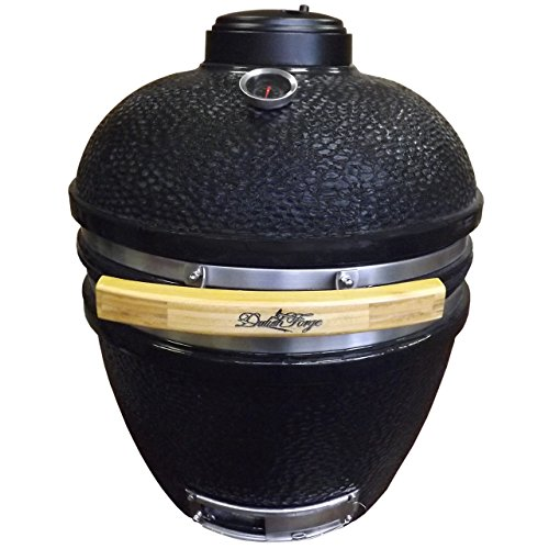 Duluth Forge Kamado Ceramic Egg Smoker Grill With Table