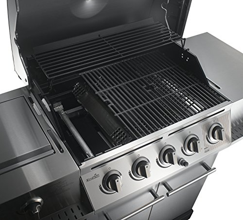 Char Broil 500 5 Burner Cabinet Gas Grill Barbecue