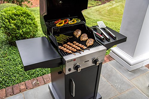 Char-Broil Performance TRU Infrared 300 2-Burner Cabinet Gas Grill ...