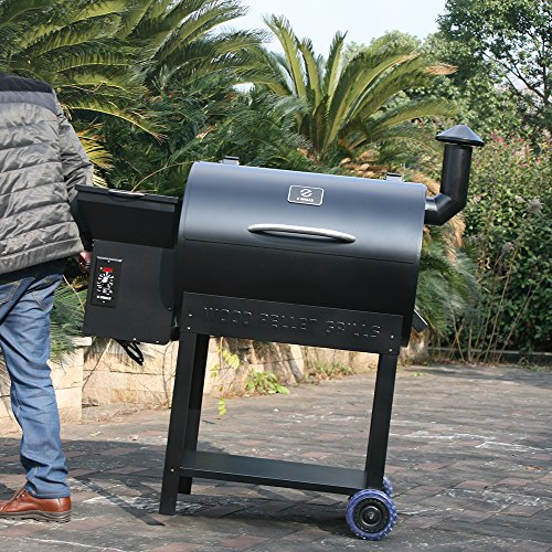 Wood Pellet Grill And Smoker 679 Sq In Bbq With Digital