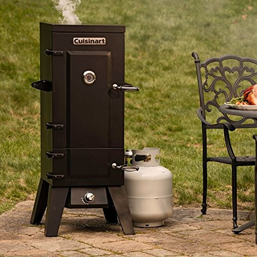Cuisinart Cos 244 Vertical 36 Propane Smoker Black