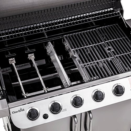 Char Broil Performance 6 Burner Cabinet Gas Grill Barbecue Smokers