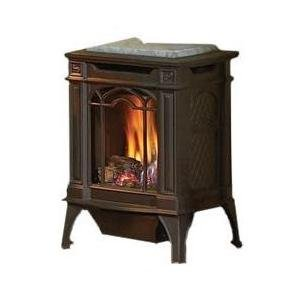Napoleon-Gvfs20-Arlington-Cast-Iron-Natural-Gas-Stove-Black