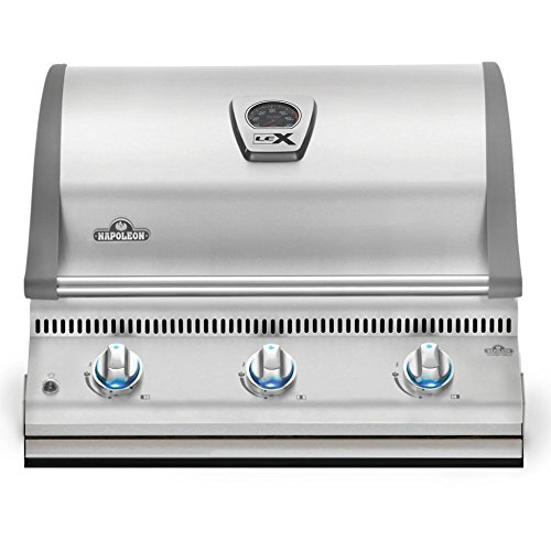 Napoleon-LEX-BILEX485-Built-In-Grill-with-3-Bottom-Burners