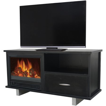 Dcor-Flame-Yosemite-52-Media-Fireplace-for-TVs-up-to-60-Black