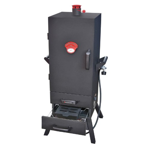 Landmann-38-Smoky-Mountain-Series-Vertical-Gas-Smoker-with-Two-Drawers