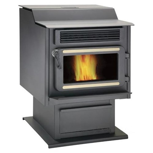 Sbi-OsburnDrolet-FL066-FL-066-Flame-FP-45-Steel-Pellet-Stove