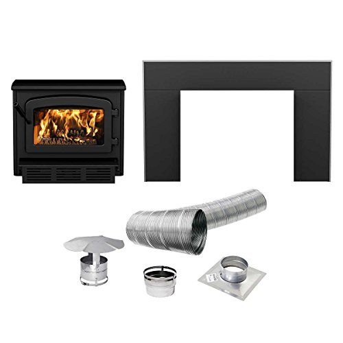 Escape-1800-Wood-Stove-Insert-Trio