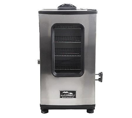 Masterbuilt-4-Rack-Digital-Electric-Smoker-wRemote-Cover-Window