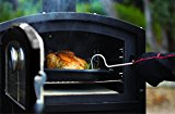 Alfresco-Home-82-1003-Fornetto-Alto-Wood-Fired-Oven-Smoker-for-Built-In-Use-Ecru