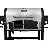 Dyna-Glo-DGN576SNC-D-Dual-Chamber-Stainless-Steel-Charcoal-BBQ-Grill