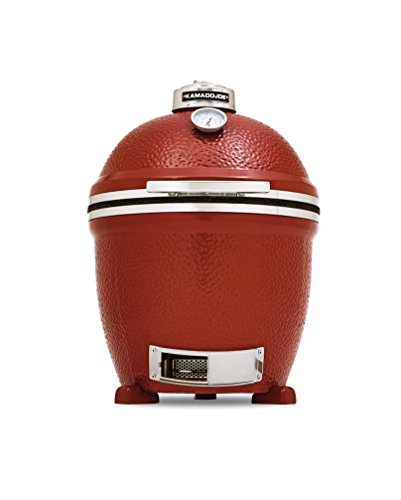 Kamado-Joe-KJ23NRSH-Classic-Joe-Stand-Alone-Red