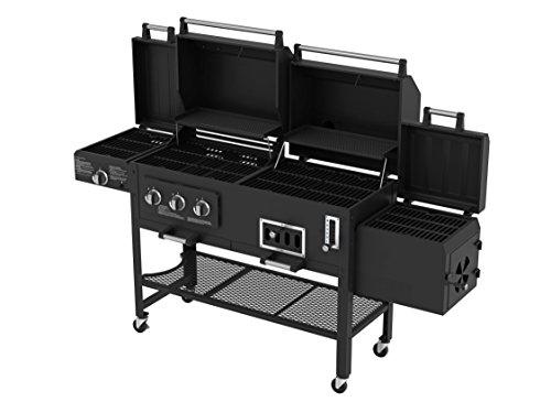 Smoke-Hollow-8500-LP-GasCharcoal-Grill-with-Firebox
