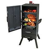 Landmann-34-in-Charcoal-Easy-Access-2-Drawer-Vertical-Smoker