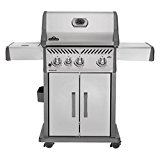 Napoleon-Rogue-4-Burner-with-Infrared-Side-Burner-Gas-Grill