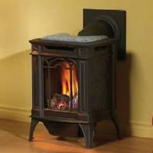 Arlington-Direct-Vent-Cast-Iron-Gas-Stove-Painted-Black