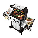 Broil-King-986884-Signet-90-Liquid-Propane-Gas-Grill-with-Side-Burner-and-Rear-Rotisserie