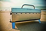 Kuuma-58110-Stow-N-Go-160-Charcoal-Grill-with-Inner-Lid-Liner