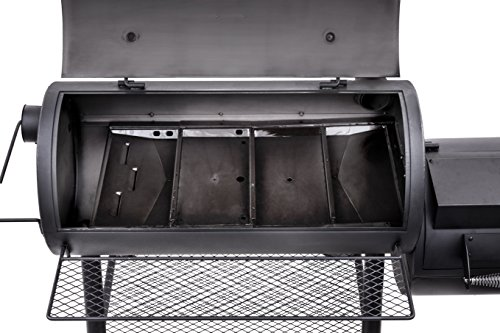 Oklahoma Joe S Longhorn Reverse Flow Smoker Barbecue