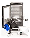 Masterbuilt-20076716-4-Rack-Digital-Electric-Smoker-with-Leg-Kit-Cover-and-Gloves-30-Cinnamon