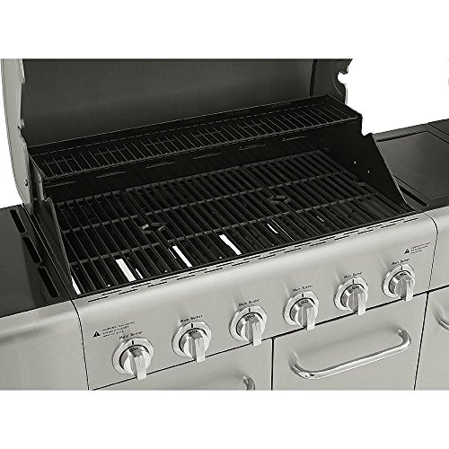 Weber Gas Grill Parts >> Kenmore 6 Burner Stainless Steel Gas Grill with Front Storage | Barbecue smokers and grills ...