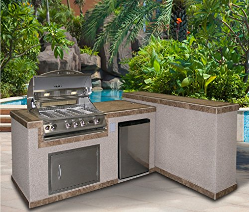 Cal-Flame-e3022-3-Piece-Island-with-32-Natural-Gas-BBQ-Grill